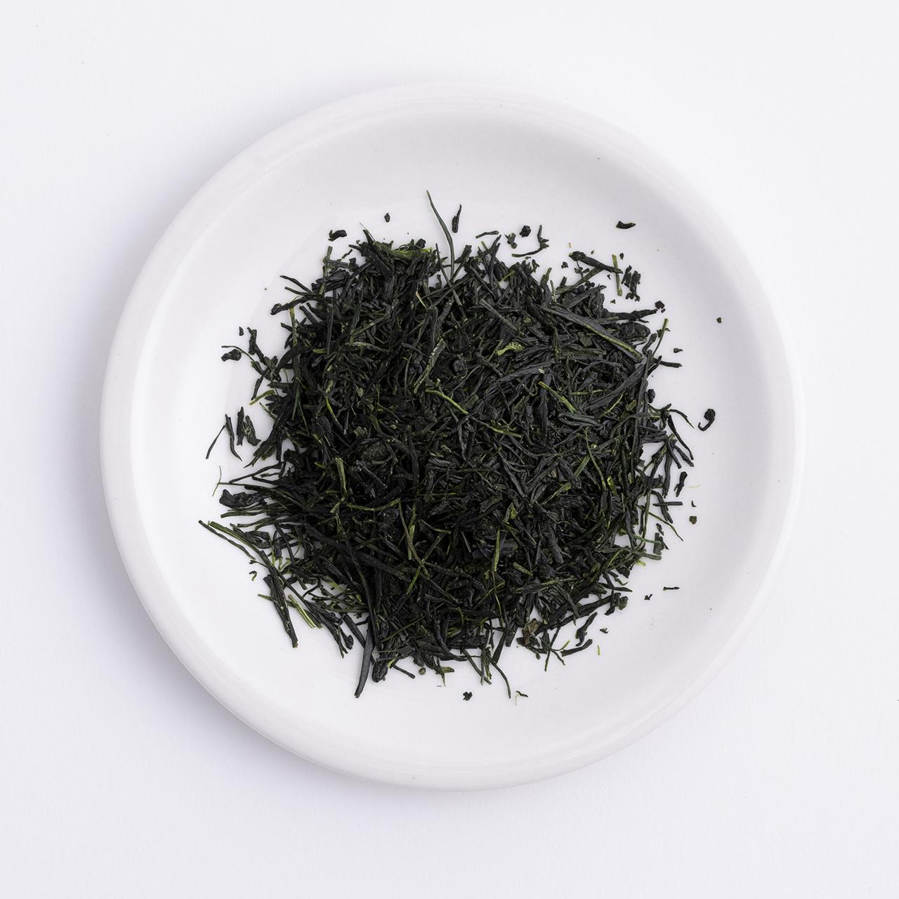特上かぶせ茶-黒檀-